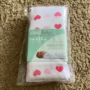 🆕 ♥️💕♥️ Ideal Baby Muslin Swaddle ♥️💕♥️